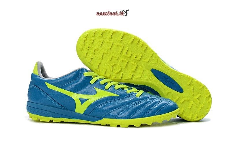 Scarpe da Calcetto Mizuno monarcida Neo Mix TF Blu