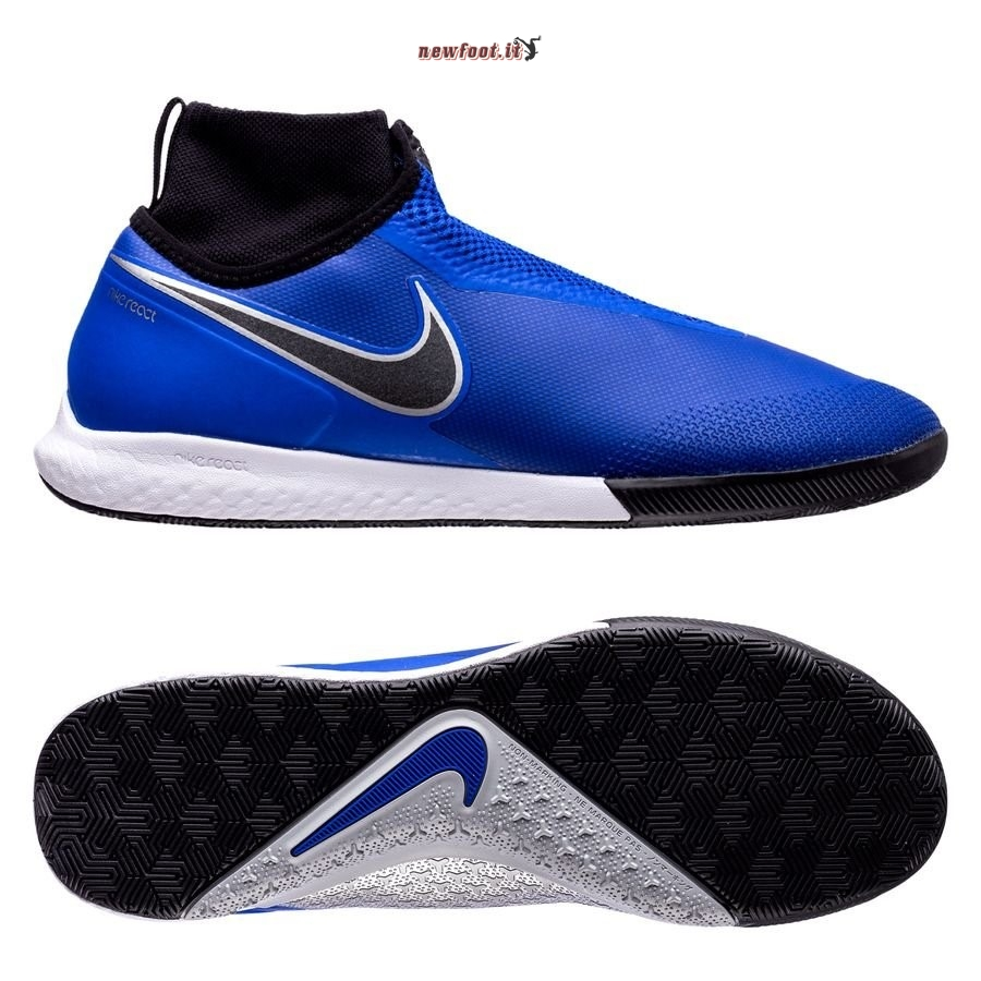 Scarpe da Calcetto Nike Phantom Vision React Pro DF IC Blu