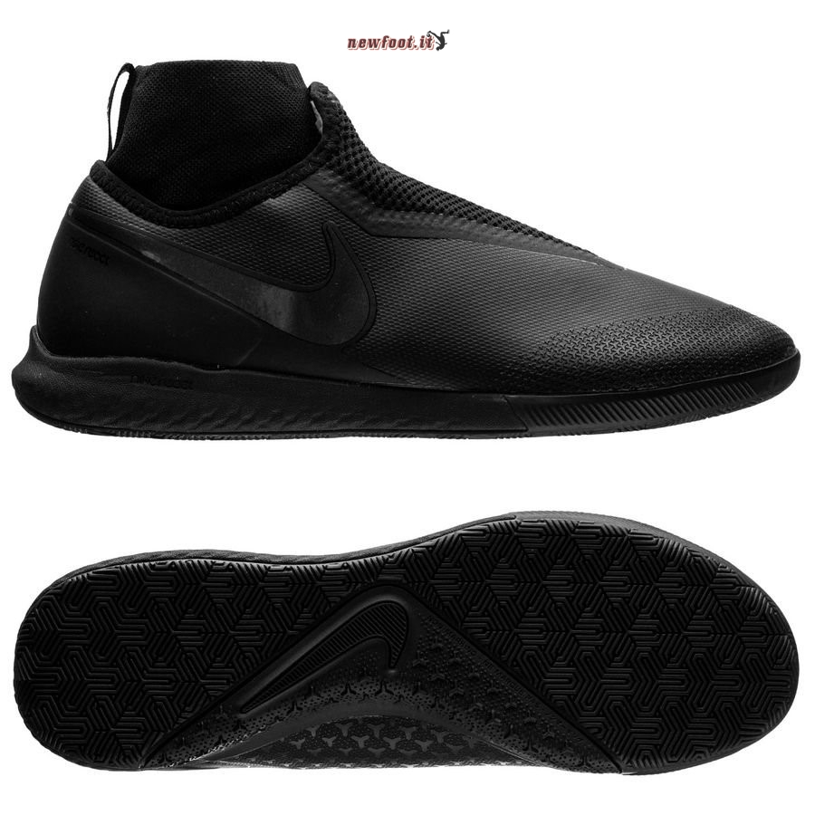 Scarpe da Calcetto Nike Phantom Vision React Pro DF IC Nero