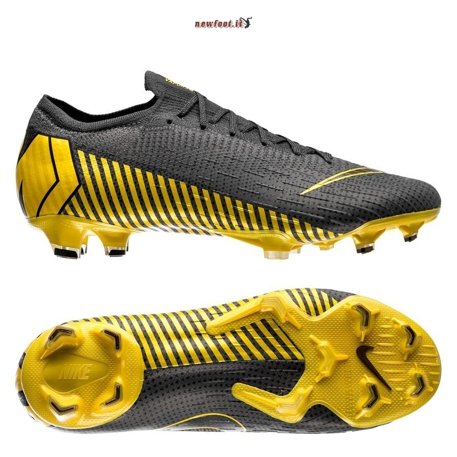 Scarpe da Calcetto Nike Mercurial Vapor XII Elite FG Game Over Nero Giallo