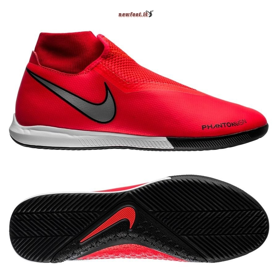 Scarpe da Calcetto Nike Phantom Vision Academy DF IC Game Over Rosso Nero