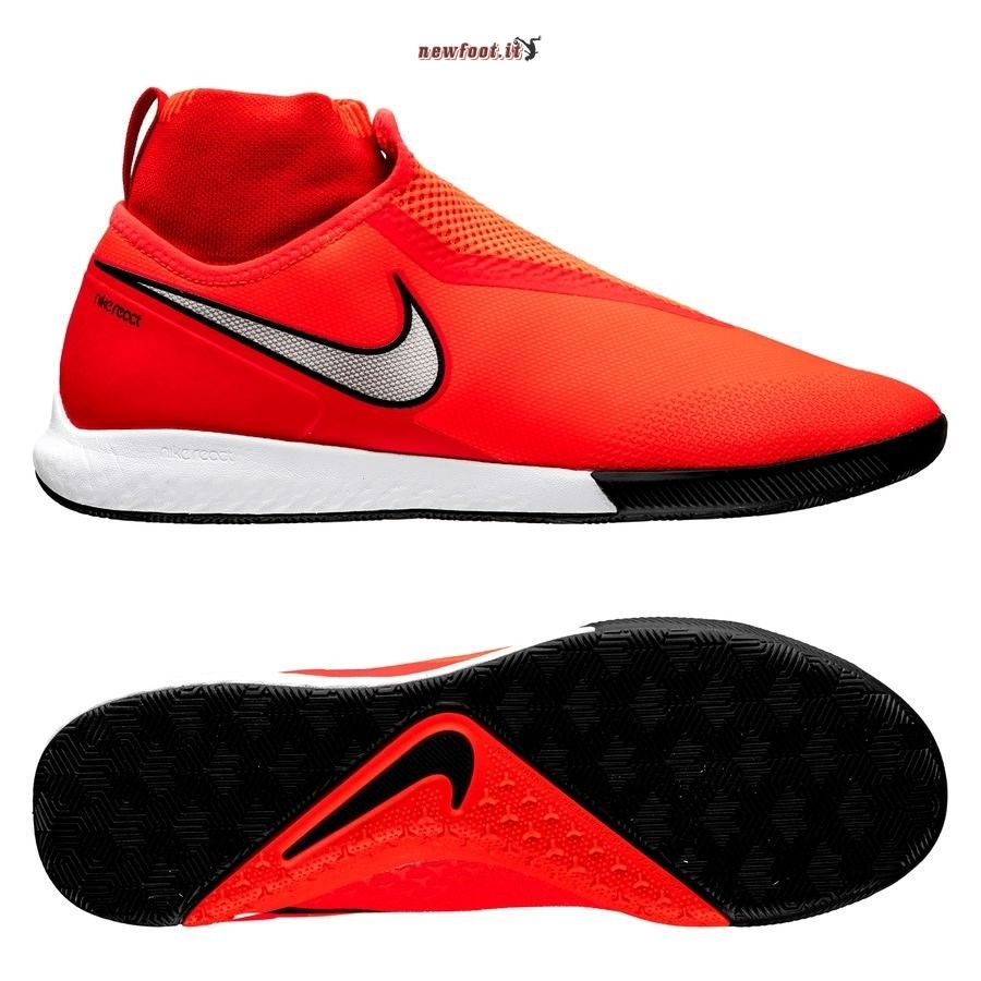 Scarpe da Calcetto Nike Phantom Vision React Pro DF IC Game Over Rosso