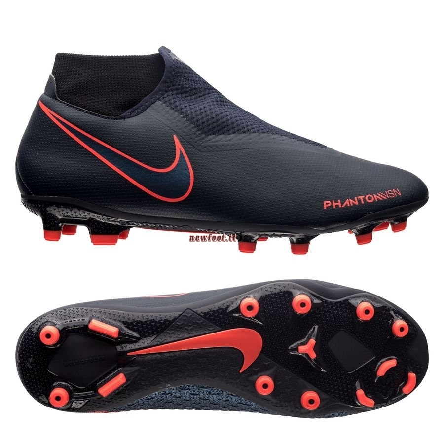 Scarpe da Calcetto Nike Phantom Vision Academy DF MG Fully Charged Nero