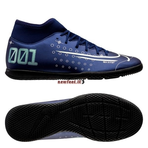 Scarpe da Calcetto Nike Mercurial Superfly 7 Club IC Blu