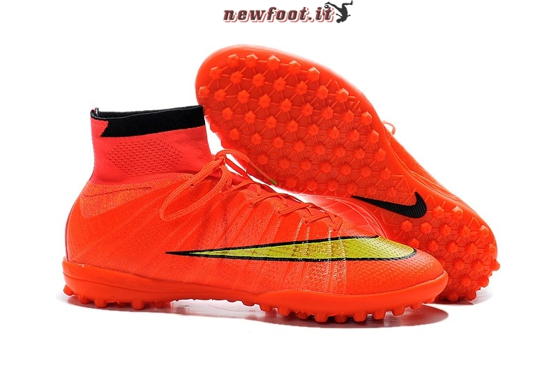 Scarpe da Calcetto Nike Elastico Superfly TF Rosa