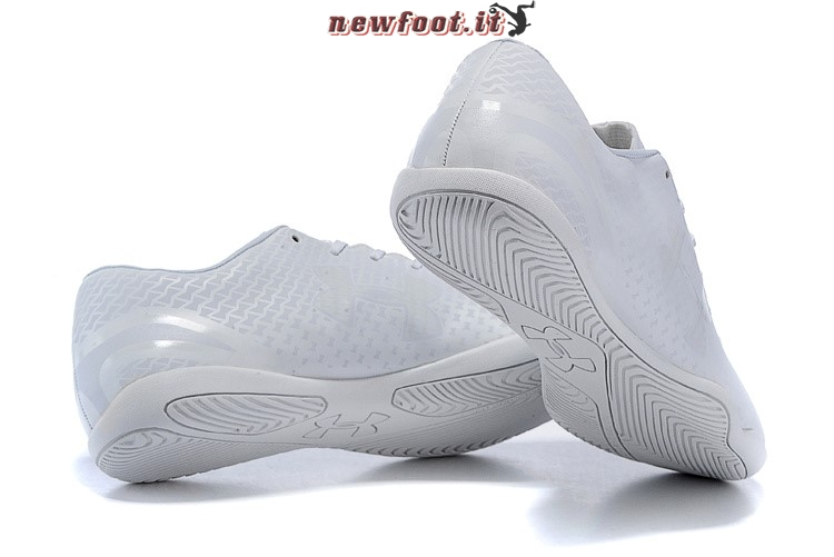 Scarpe da Calcetto Under Armour Clutchfit Force INIC Bianco