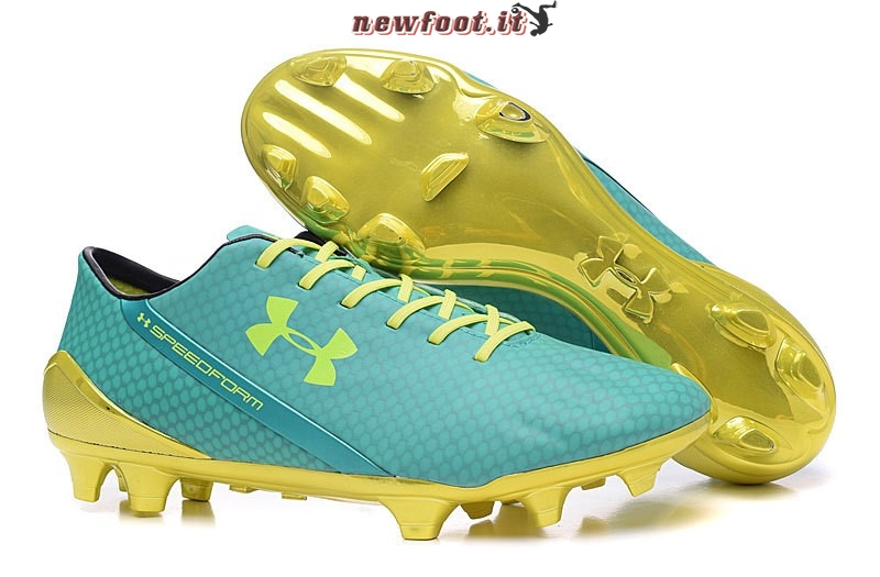 Scarpe da Calcetto Under Armour Speedform FG Verde Verde Fluorescente